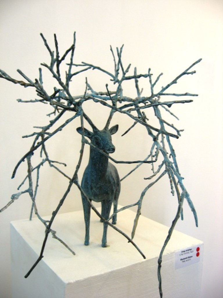 שולמית עציון, סבך אייל, 2011, ברונזה
