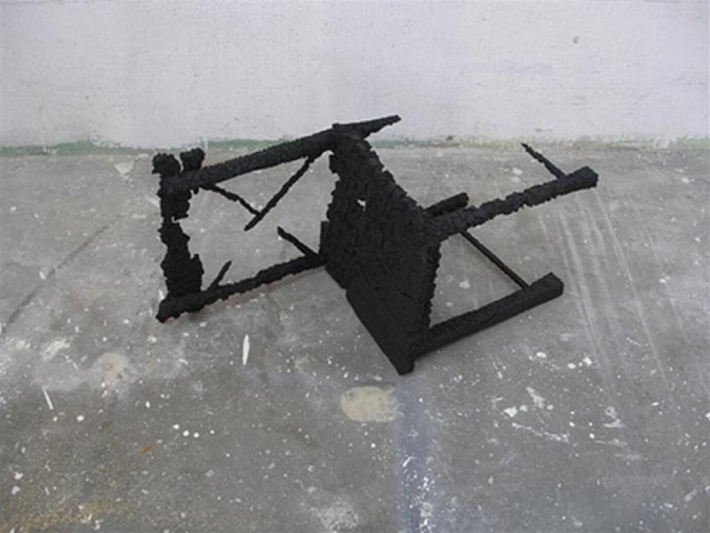 סשה סרבר, כיסא שרוף, קלקר, 2005