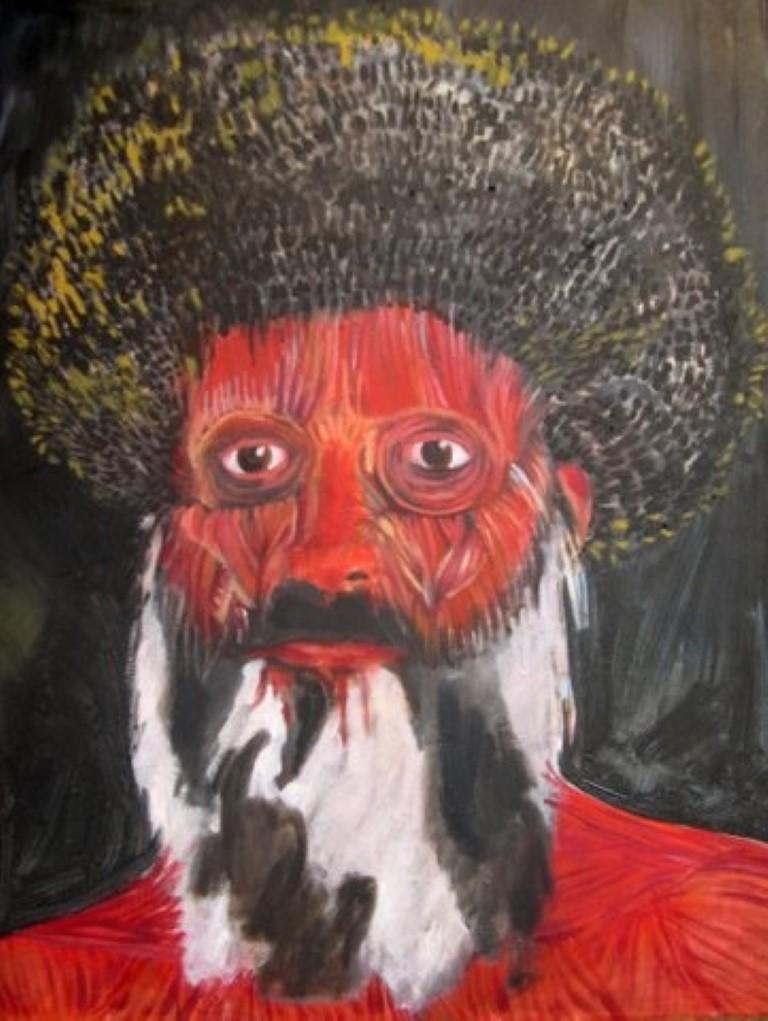רעיה ברוקנטל, בשר ודם - תחיית המתים, שמן על בד, 2005