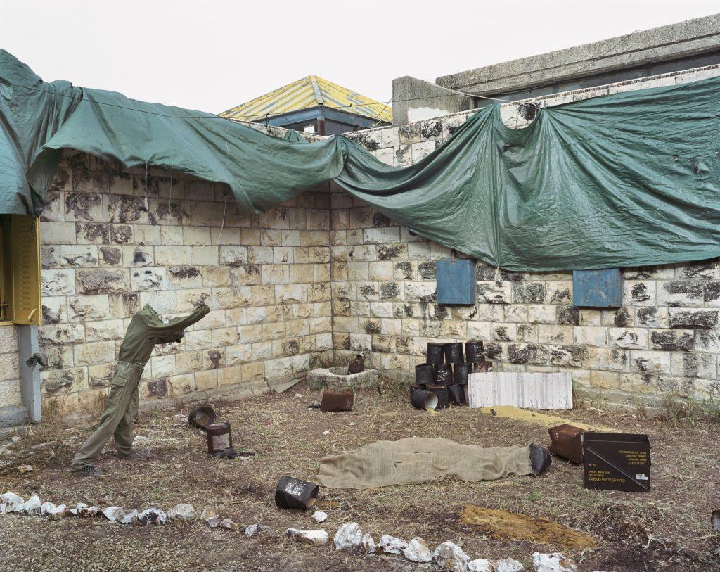 "Gaston Zvi Ickowicz, ""The annual Exhibition"" (Masada Scouts Troup), 2010, pigment print"
