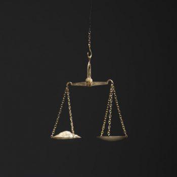 סיגלית לנדאו, מאזני אי-צדק, 2005-1996, ברונזה